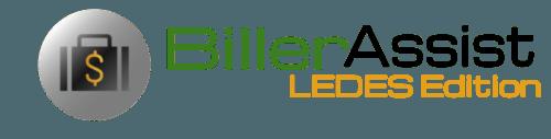BillerAssist LEDES Edition | Legal Billing Software, Time Entry Assist & More | Online Software (No Download)